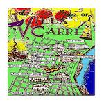 Vieux Carre Tile Coaster
