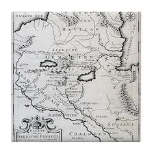 Armenian Map Tile Coaster