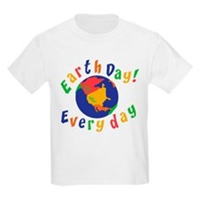 Earth Day Everyday Kids T-Shirt