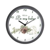 Be My Baby Wall Clock
