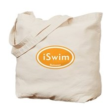 iSwim Orange Oval Tote Bag