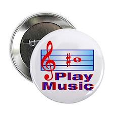 B Sharp Play Music Button