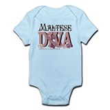 Maltese DIVA Infant Bodysuit