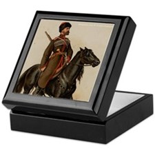 Cossack Soldier Keepsake Box