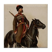 Cossack Soldier Tile Coaster