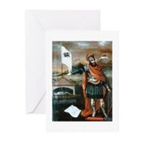 Armenian Hero Hayk Greeting Cards (Pk of 20)