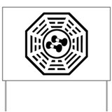 Unique Dharma initiative Yard Sign