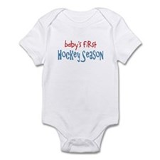Baby's 1st Hockey Season Infant Bodysuit