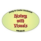 SCA - History with Visuals Oval Decal