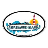 Assateague Island VA Decal