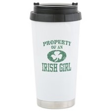 Property of an Irish Girl Ceramic Travel Mug