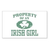 Property of an Irish Girl Decal