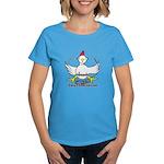 Cocky Contractor Women's Dark T-Shirt