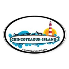 Chincoteague Island VA Decal