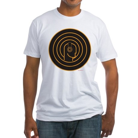 Head Spin DJ Fitted T-Shirt