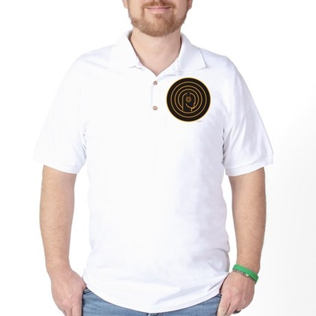 Head Spin DJ Golf Shirt