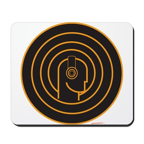 Head Spin DJ Mousepad