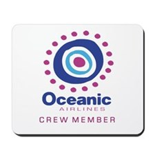 'Oceanic Airlines Crew' Mousepad