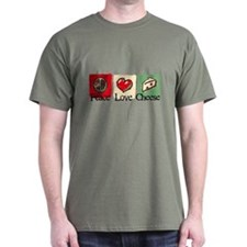 Peace, Love, Cheese T-Shirt