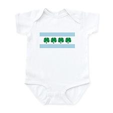 Irish Chicago Flag Infant Bodysuit