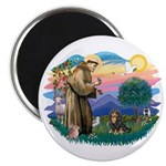 St Francis #2 / Cavalier (BT) Magnet