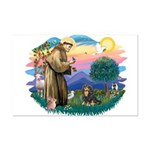 St Francis #2 / Cavalier (BT) Mini Poster Print