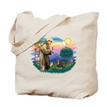 St Francis #2 / Cavalier (BT) Tote Bag