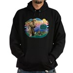 St Francis #2 / Cavalier (BT) Hoodie (dark)
