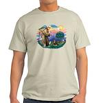 St Francis #2 / Cavalier (BT) Light T-Shirt