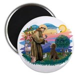 St Francis #2 / Poodle (ST-Ch) Magnet