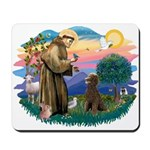 St Francis #2 / Poodle (ST-Ch) Mousepad