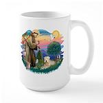 St Francis #2 / Wheaten Large Mug
