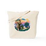 St Francis #2 / Wheaten Tote Bag