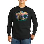 St Francis #2 / Wheaten Long Sleeve Dark T-Shirt