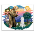 St Francis #2 / Poodle (STD W) Small Poster
