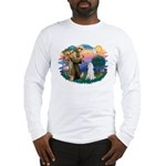 St Francis #2 / Poodle (STD W) Long Sleeve T-Shirt
