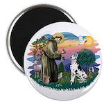 St Francis #2 / Great Dane (H) Magnet