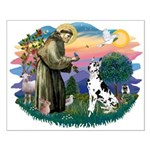 St Francis #2 / Great Dane (H) Small Poster
