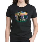 St Francis #2 / Great Dane (H) Women's Dark T-Shir