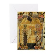 Armenian King and Queen Greeting Cards (Pk of 20)