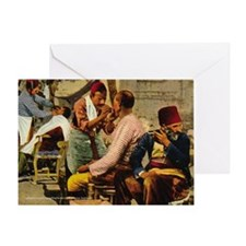 Ottoman Barbers Greeting Card