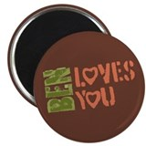 Ben Loves You Magnet