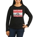 Catfish Bait Soap Women's Long Sleeve Dark T-Shirt