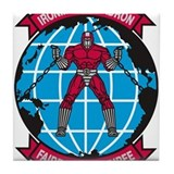Cute Ironman Tile Coaster