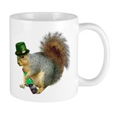 Irish Drinking Squirrel Coffee Mug