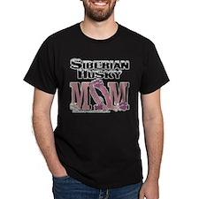 Siberian Husky MOM T-Shirt