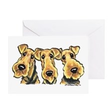 Airedale Terrier Lover Greeting Card