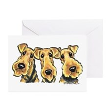 Airedale Terrier Lover Greeting Cards (Pk of 20)