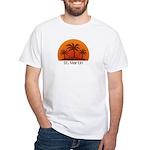 St. Martin White T-Shirt