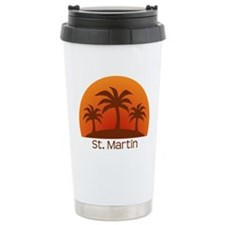 St. Martin Stainless Steel Travel Mug